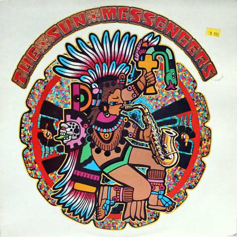 "The Sun Messengers Vinyl 12"""