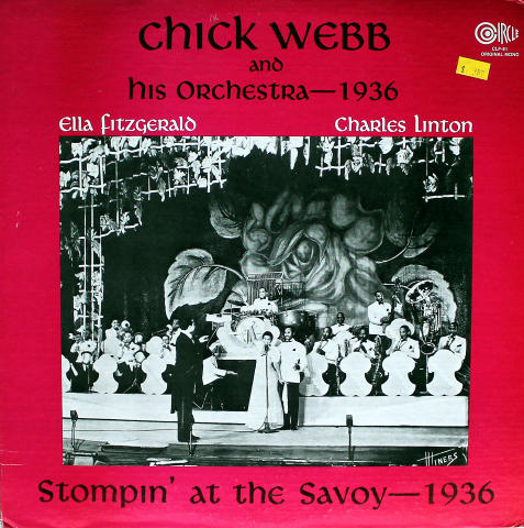 """Chuck Webb And His Orchestra Vinyl 12"""" (Used)"""