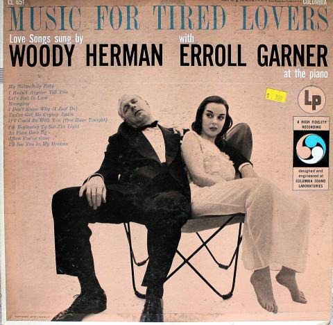 """Woody Herman / Erroll Garner Vinyl 12"""""""