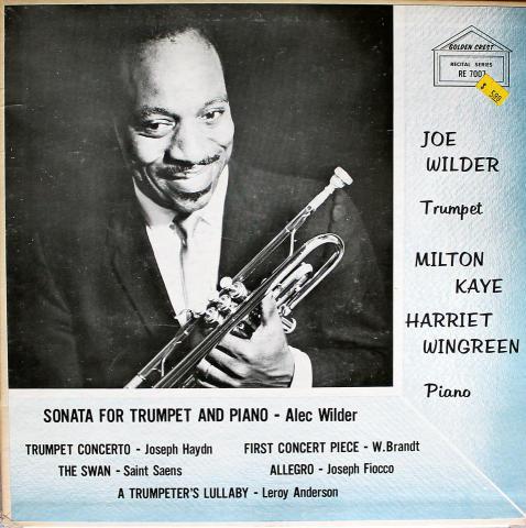 """Joe Wilder Vinyl 12"""""""