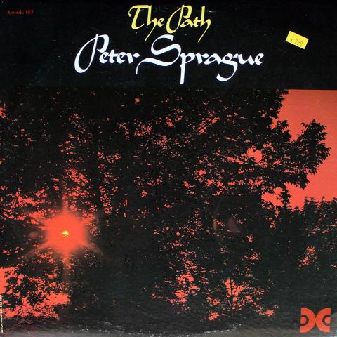 "Peter Sprague Vinyl 12"""