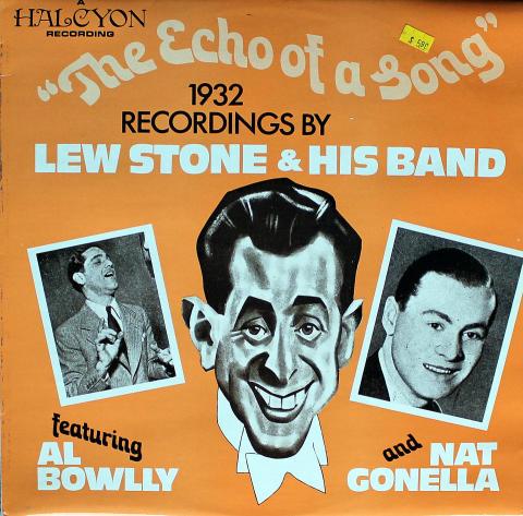 "Lew Stone / Al Bowlly / Nat Gonella Vinyl 12"""