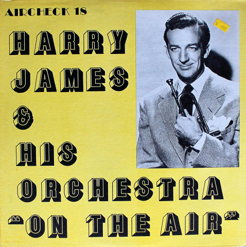 Harry James & His Orchestra Vinyl 12""