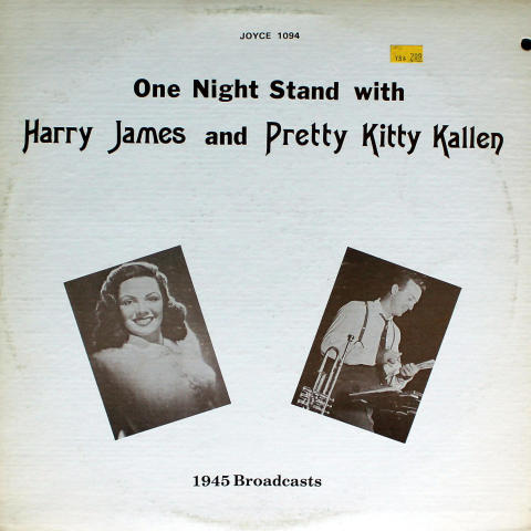"Harry James / Pretty Kitty Kallen Vinyl 12"""