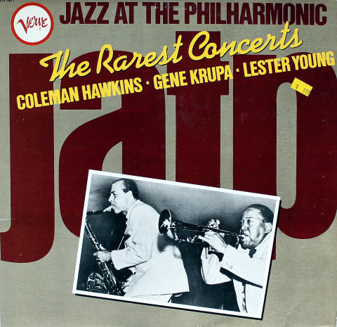 Jazz At The Philharmonic: The Rarest Concerts Vinyl 12""