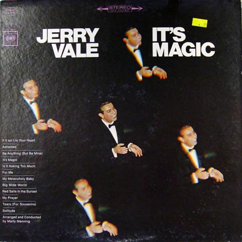 """Jerry Vale Vinyl 12"""""""