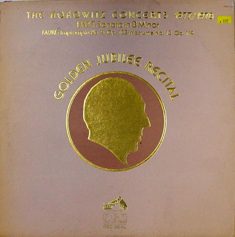 """The Horowitz Concerts: 1977/1978 (Golden Jubilee Recital) Vinyl 12"""""""