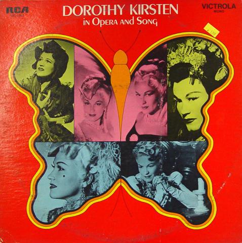 "Dorothy Kirsten Vinyl 12"""