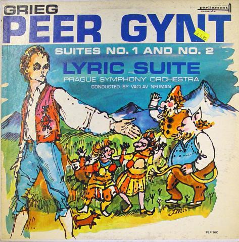 "Peter Gynt: Suites No.1 And No. 2: Lyric Suite Vinyl 12"""