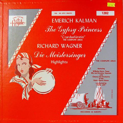 """The Gypsy Princess / Die Meistersinger Highlights Vinyl 12"""""""