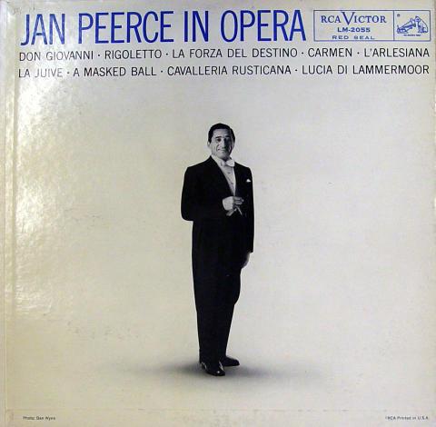 """Jan Peerce Vinyl 12"""""""