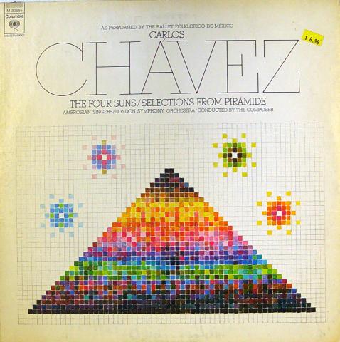 "Carlos Chavez Vinyl 12"""