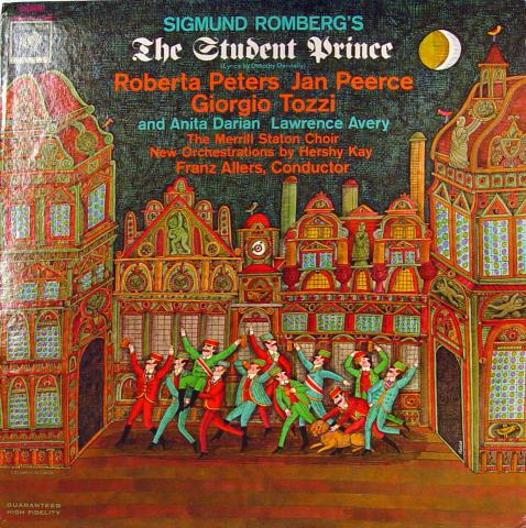 "Sigmund Romberg's: The Student Prince Vinyl 12"""