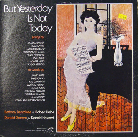 """But Yesterday Is Not Today Vinyl 12"""""""