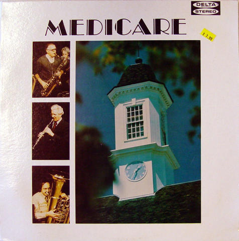 "Medicare Dixieland Jazz Band Vinyl 12"""