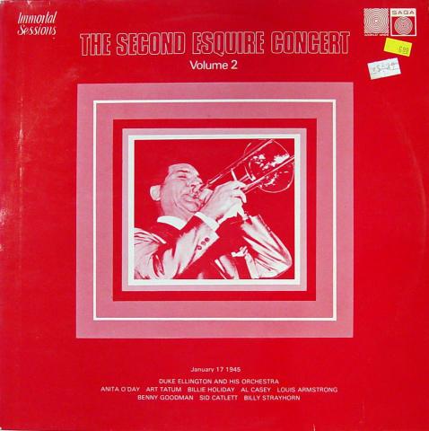 "The Second Esquire Concert: Volume 2, January 17, 1945 Vinyl 12"""