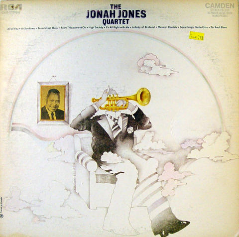 "The Jonah Jones Quartet Vinyl 12"""