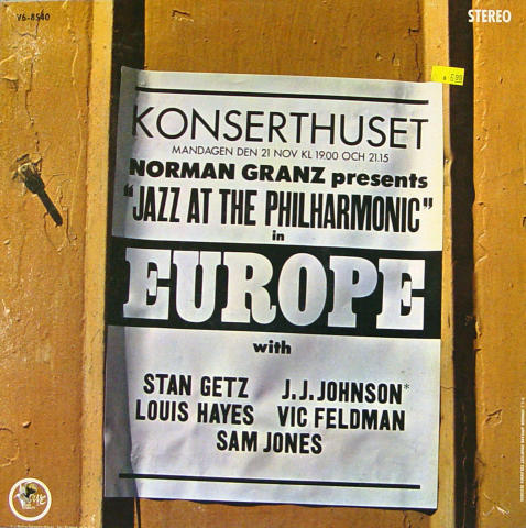 "Norman Granz Presents: ""Jazz At The Philharmonic"" In Europe Vinyl 12"""
