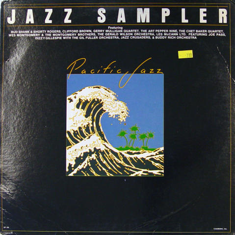 "Pacific Jazz: Jazz Sampler Vinyl 12"""