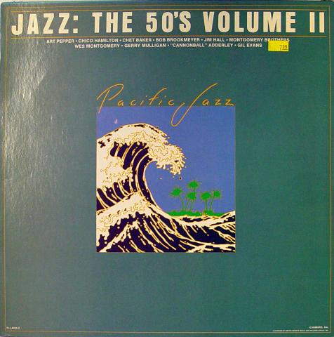 """Pacific Jazz: Jazz The 50's, Volume II Vinyl 12"""" (Used)"""