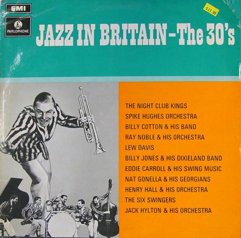 "Jazz In Britain - The 30's Vinyl 12"""