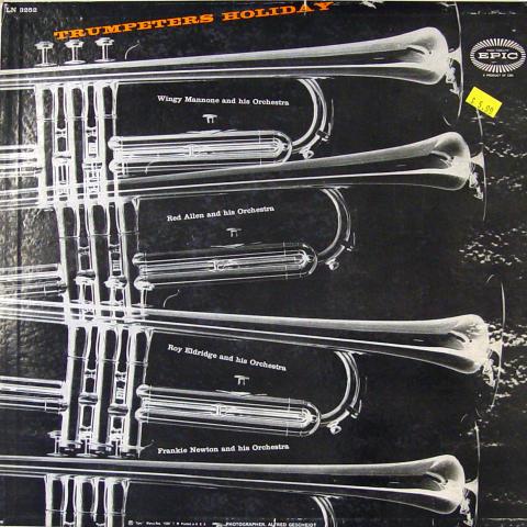 "Trumpeter's Holiday Vinyl 12"""