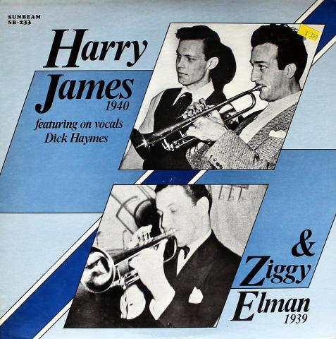 """Harry James / Ziggy Elman / Dick Haymes Vinyl 12"""""""