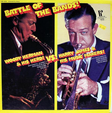 """Woody Herman / Harry James Vinyl 12"""""""
