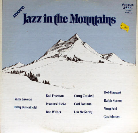 """More Jazz In the Mountains Vinyl 12"""""""