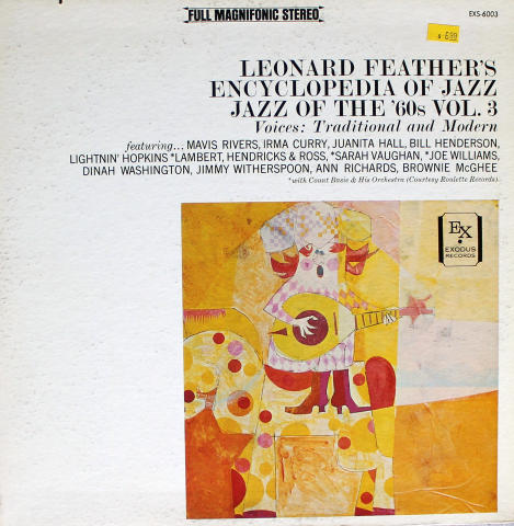 "Leonard Feather's Encyclopedia Of Jazz: Jazz Of The '60's, Vol.3 Vinyl 12"""