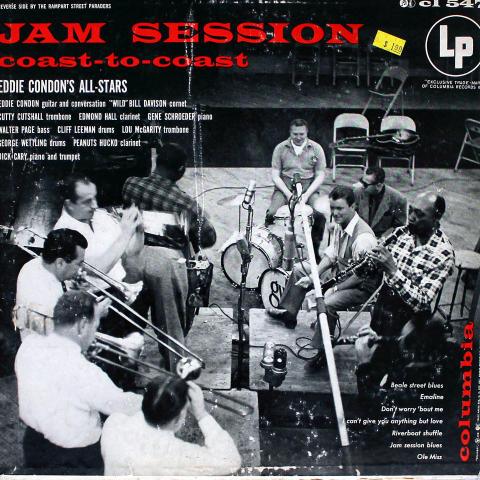 "Eddie Condon's All Stars Vinyl 12"""