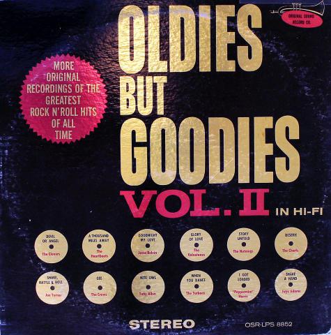 """Oldies But Goodies: Vol II Vinyl 12"""""""