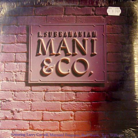 """L. Subramaniam Vinyl 12"""""""