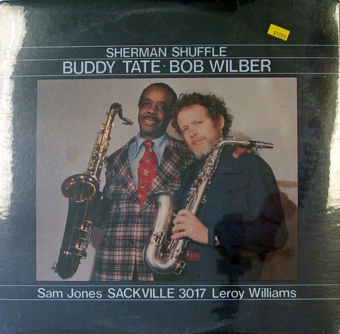 "Buddy Tate / Bob Wilber Vinyl 12"""