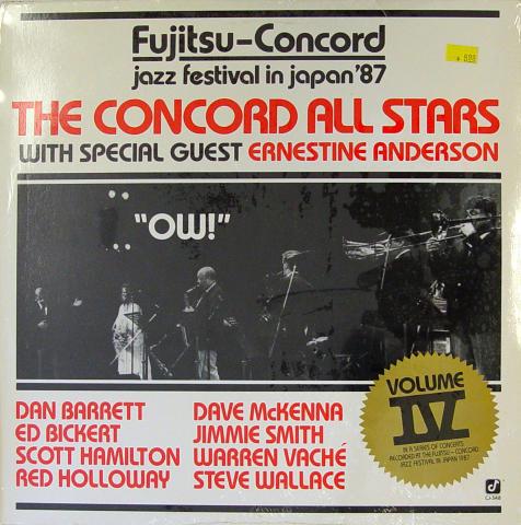 "The Concord All Stars Vinyl 12"""