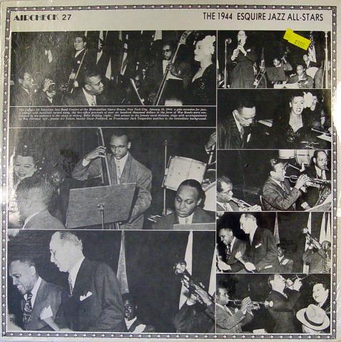 "The 1944 Esquire Jazz All-Stars Vinyl 12"""