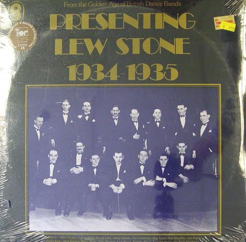 """Lew Stone Vinyl 12"""""""