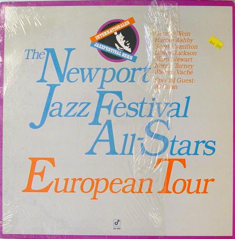 "The Newport Jazz Festival All-Stars European Tour Vinyl 12"""