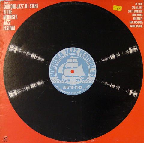 "Concord Jazz All Stars Vinyl 12"""