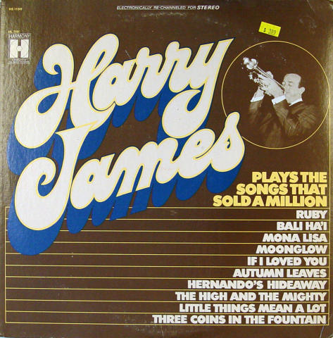 Harry James Vinyl 12""