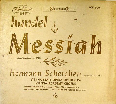 """Handel Vinyl 12"""""""