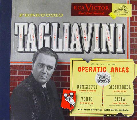"Ferruccio Tagliavini Vinyl 12"""