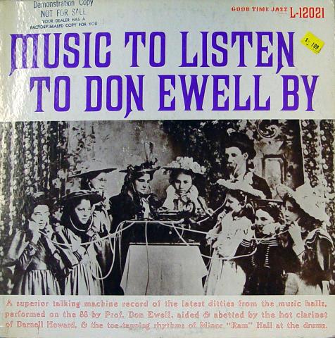 "Don Ewell Vinyl 12"""