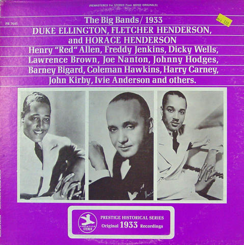 """The Big Bands 1933 Vinyl 12"""""""