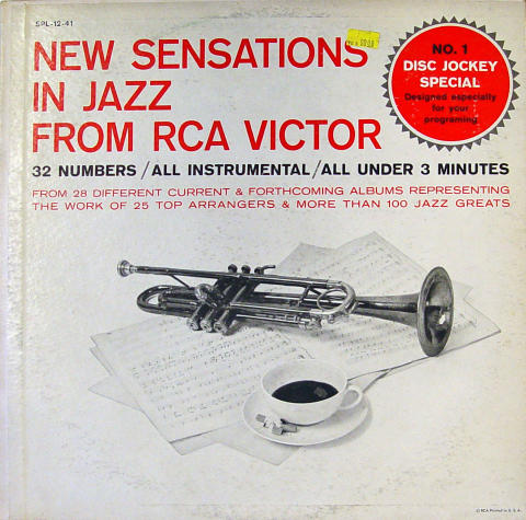 "New Sensations In Jazz From RCA Victor Vinyl 12"""