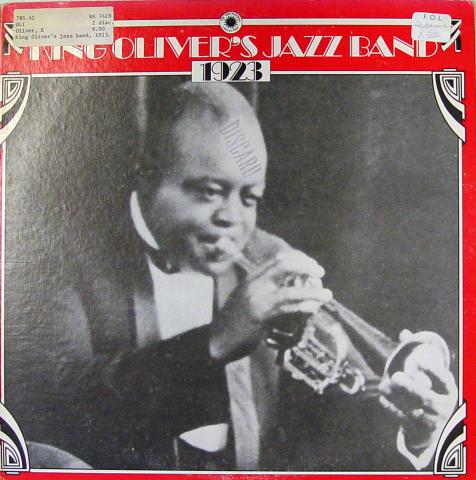 "King Oliver's Jazz Band Vinyl 12"""