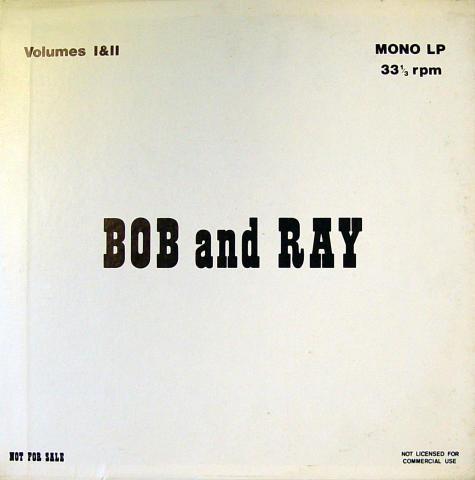 """Bob And Ray Vinyl 12"""""""
