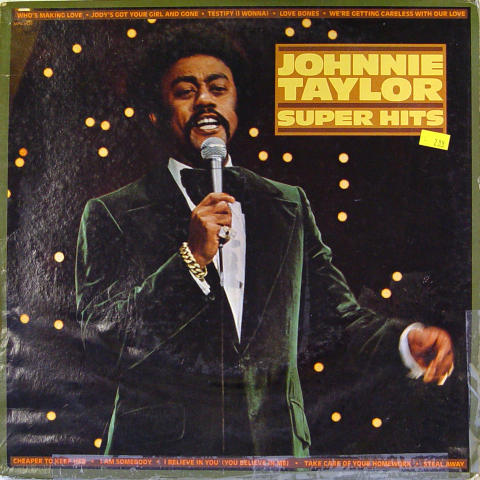 "Johnnie Taylor Vinyl 12"""