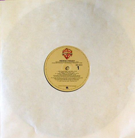 """Andrae Crouch Vinyl 12"""""""