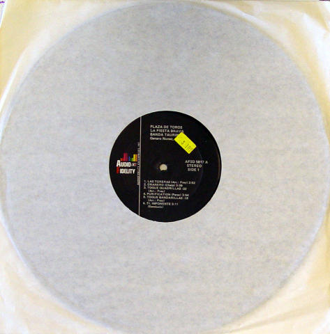 """Banda Taurina Vinyl 12"""""""